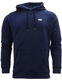 UCLA - Sweat-shirt à capuche - Pull - Uni - Manches Longues - Homme Bleu Bleu