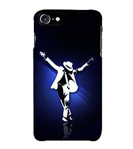 Fuson Designer Back Case Cover for Apple iPhone 7 (Dance Hip Hop Dance Love Mj Steps)