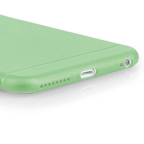 Original TheSmartGuard iPhone 6S-6 Hülle Case Schutzhülle (4,7 Zoll) - Ultra-Slim / Ultra-dünn - NEU mit integriertem Schutz für die Kamera-Linse - Farbe schwarz transparent Grün