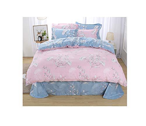 The Unbelievable Dream Bettbezug doppelseitige Bettwäsche Bettwäscheset Baumwolle waschbar einfache niedliche Kinder Kinder Erwachsenenträume glücklich, 2