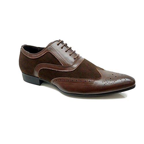 #MaronaShoes, Scarpe stringate uomo, marrone (Brown), 7 UK