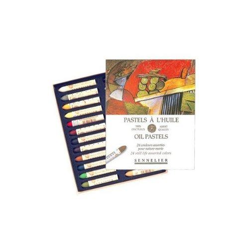 Sennelier Artists Oil Pastels - Set of 24 x Still Life Colours