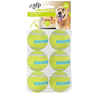 All For Paws Interactives Fetch Balls for Dogs 6-Pieces, 19.09 kg 7