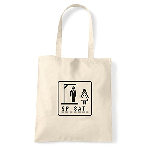 Art T-shirt, Borsa Shoulder Sp-sat-, Shopper, Mare Natural