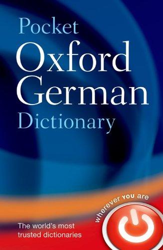 Pocket Oxford German Dictionary (Oxford Dictionary Pocket)