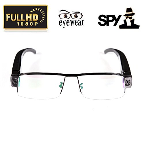 Techno electronics HD 1080P Spy Camera Glasses Hidden Eyewear DVR Video Recorder Mini Cam Camcorder  available at amazon for Rs.4098