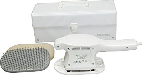 Vibrax Senator Professional 3 D Großflächenmassagegerät Profi Massagegerät inkl. Aufbewahrungskoffer, Kunststoff-Hyperämisierungsbürste und Moosgummischuh, - Sog-bereich
