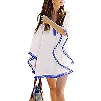 Embryform Donne Beachwear Solido Del Costume da Bagno Blouse Top