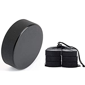 Tebery 6er Set Eishockey Puck Senior- Official IIHF Erwachsene Hockey