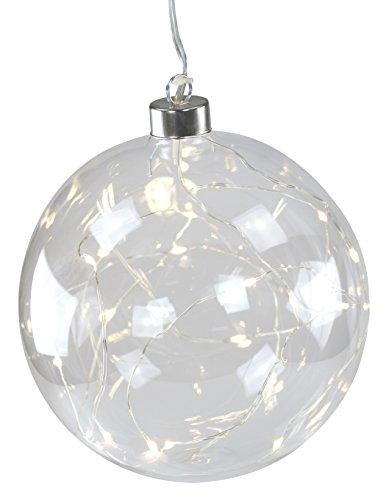 Decoline Weihnachtskugeln mit 20 LED XXL 1 Stück