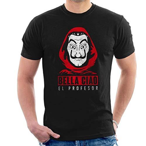 Bella Ciao El Profesor Casa De Papel Men's T-Shirt