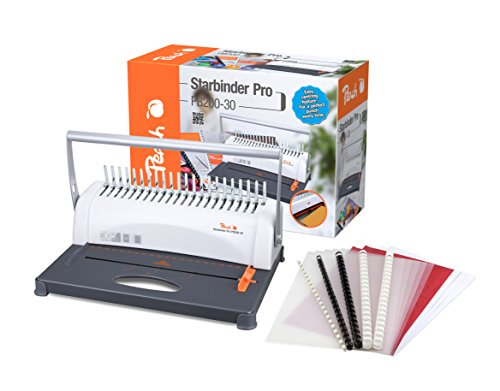 peach-pb200-30-a4-plastic-binding-machine-350-sheet-capacity-includes-15-piece-starter-set