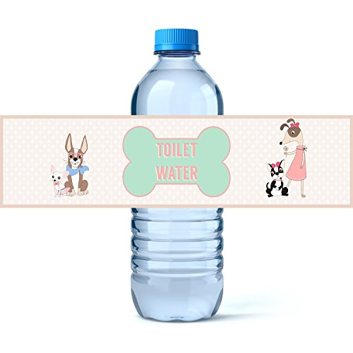Calling alle Party Animals Puppy Annahme Party Supply Toilet Water (Tags Dog Supplies Party)