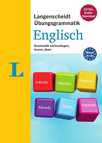 Langenscheidt Übungsgrammatik Englisch - Buch mit PC-Software zum Download: Grammatik nachschlagen, lernen und üben