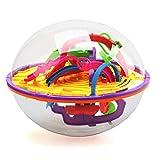 Admier Labirinto Palla Gioco 3D intelligenza Palla con 100 Sfida barriera per i Bambini Puzzle Giocattolo rompicapo Puzzle Game