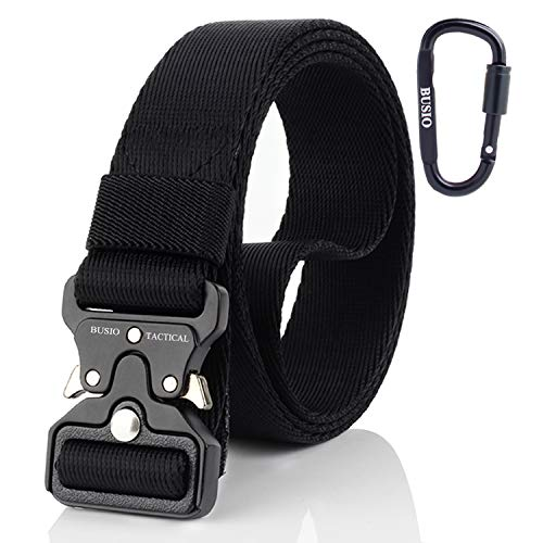Tactical Belt,Military Heavy Duty Utility CQB Rigger Belt for Women Men,Small 4.2cm Quick Release Metal Buckle MOLLE 3.2cm Nylon Web Army Gun EDC Belt