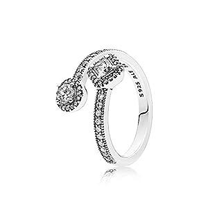 Pandora Damen Ring Abstrakte Eleganz 191031CZ