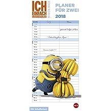 Minions Planer für zwei - Kalender 2018