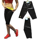 Bonvie.shop Fitness Shorts Sporthose Abnehmen Sauna Schwitzhose Abnehmhose mit Thermoeffekt (S-M)