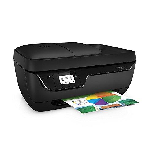 HP OfficeJet 3831 Impresora Multifunción de Tinta (WiFi 512 MB 600 x 300 dpi 1200 x 1200 dpi A4 216 x 297 mm con 1 Año del Plan DE 50 Páginas de HP Instant Ink Incluido) Color Negro