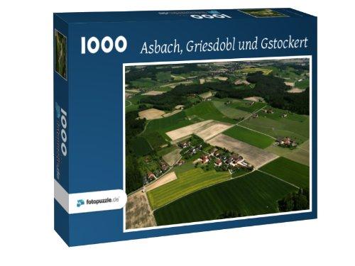 Preisvergleich Produktbild Asbach - Griesdobl und Gstockert - Puzzle 1000 Teile mit Bild von oben