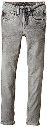 Garcia Kids - Jungen Super Slim Jeanshose Xandro, Gr. 152, Grau (chrome 1250)