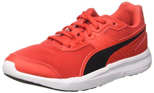 Puma Unisex-Erwachsene Escaper Mesh Sneaker, Rot (Flame Scarlet Black), 45 EU (10.5 UK)