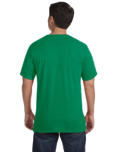 anvil Herren Sustainable T-Shirt / 450 Grün (Heather Green)