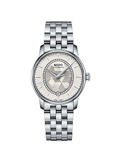 Mido Damen Digital Automatik Uhr mit Edelstahl Armband M0072071111600
