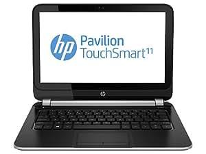 """HP 11-e000eb Ordinateur Portable 11.6 """" 500 Go Windows 8 Noir, Argent"""