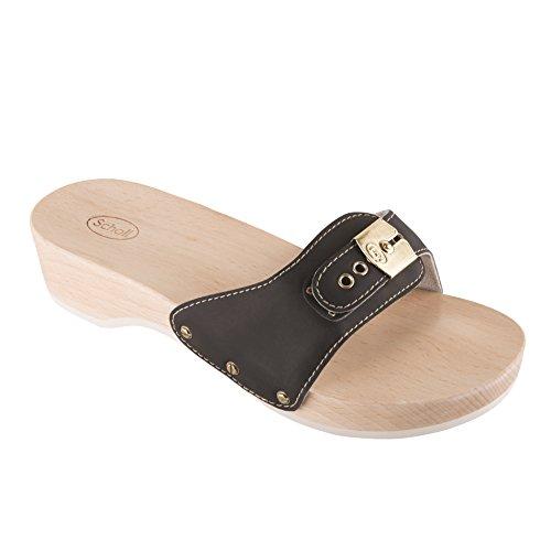 scholl-schuhe-pantolette-pescura-heel-sporty-black-grosse40