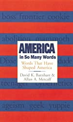 America in So Many Words: Words That Have Shaped America