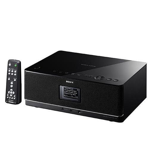 Sony NAS C 5 E W-LAN Player (zur Erweiterung des GigaJuke Systems NAS-SC55PKE) schwarz