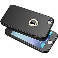KunyFond Hülle für iPhone 6/6S,iPhone 6/6S Silikon Hülle + Panzerglas [Full-Body 360 Coverage Protective],Full... preisvergleich bei billige-tabletten.eu
