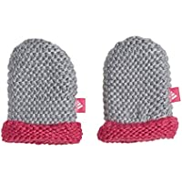 Adidas Infants Mittens Guante, Unisex bebé, Medium Grey Heather/Real Magenta/White, XX-Small