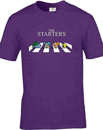 Eat Sleep Shop Repeat -  T-shirt - Uomo Purple