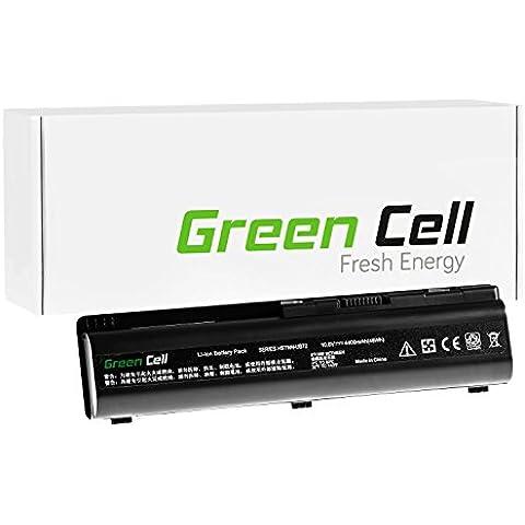 Green Cell® Standard Serie Batería para HP Compaq Presario CQ61-330SS Ordenador (6 Celdas 4400mAh 10.8V Negro)