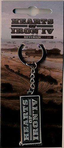 Price comparison product image Hearts of Iron IV Metal Keychain