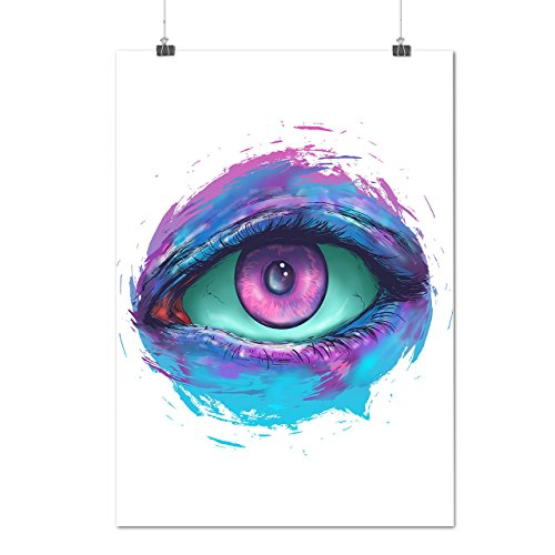 Auge Spion Beachten Mode Sehvermögen Mattes/Glänzende Plakat A3 (42cm x 30cm) | (Kostüm Spion Leder)