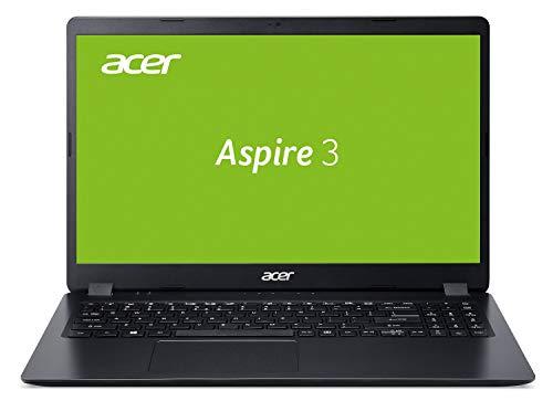 Acer Aspire 3 (A315-54-58ZK) 39,6 cm (15,6 Zoll Full-HD matt) Multimedia Laptop (Intel Core i5-10210U, 8 GB RAM, 1.000 GB PCIe SSD, Intel UHD, Win 10 Home) schwarz