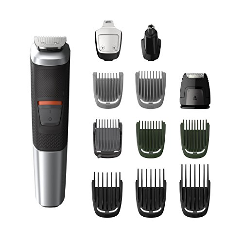 Philips Multigroom Serie 5000 Rifinitore multi-styles/12 accessori di precisione