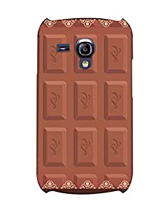 Pick Pattern Back Cover for Samsung I8200 Galaxy S III mini (MATTE)
