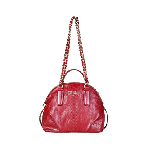 Cavalli Class - Sac porté épaule pour femme (C41PWCBV0052_060-RED) - Rouge