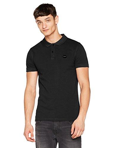 BOSS Casual Herren Poloshirt Prime 10203439 01, Schwarz (Black 1), X-Large -