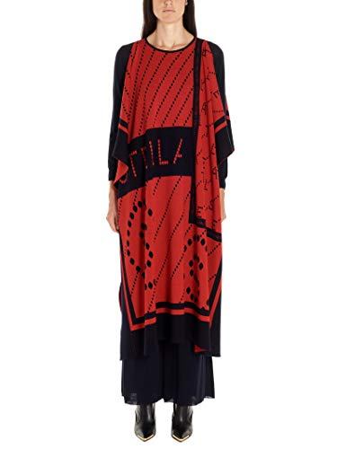 Stella McCartney Luxury Fashion Damen 553310S20938491 Rot Poncho | Herbst Winter 19 10