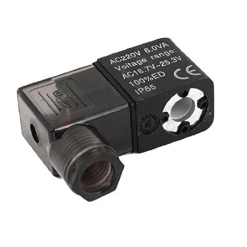 220V AC 6.0VA partie électrique Air pneumatique électrovanne Bobine