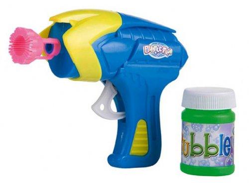 Seifenblasen Pistole Seifenblasenpistole Seifen Blasen inkl. 45 ml Lösung Bubble Gun