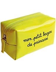 """Pochette Trousse maquillage en vinyle """"Mon petit bazar de princesse"""""""