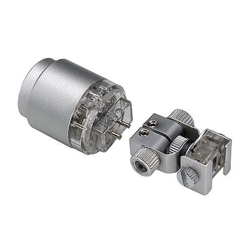 Slv power led-spot - Luminaria led-spot aluminio plata 1w led blanco calida