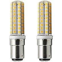 1819 ® BA15D LED bombillas 5W Blanco cálido 3000K Bulb equivalentes a Lámparas halógenas de 40W